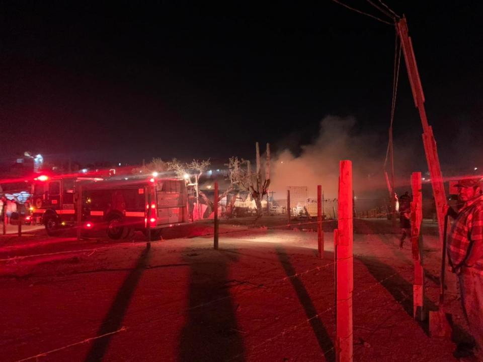Incendio en Cabo San Lucas