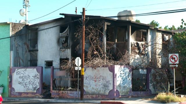 Inmueble abandonado en Pueblo Nuevo