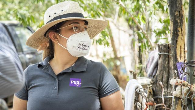 Candidata por el Partido Encuentro Solidario a diputada federal por el distrito 02.