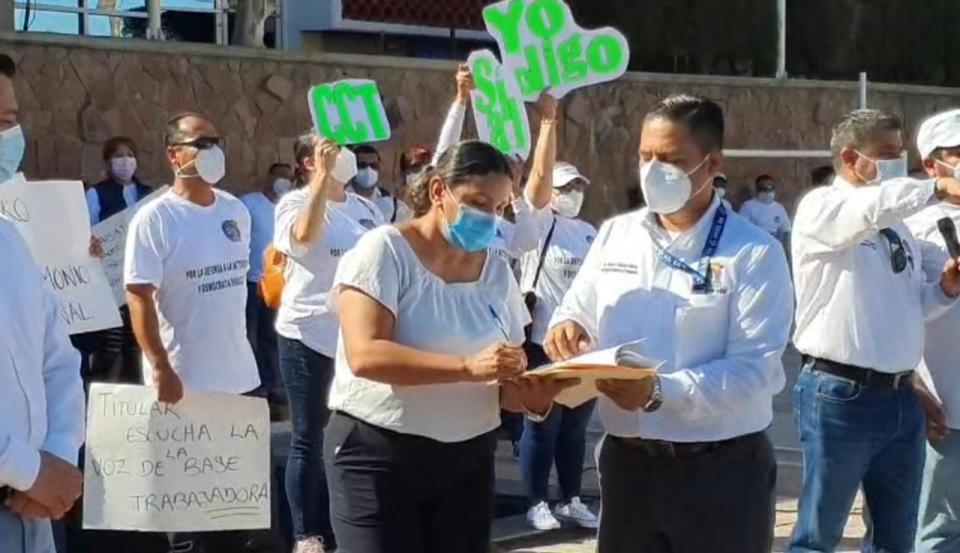 Manifestacion Médicos La Paz