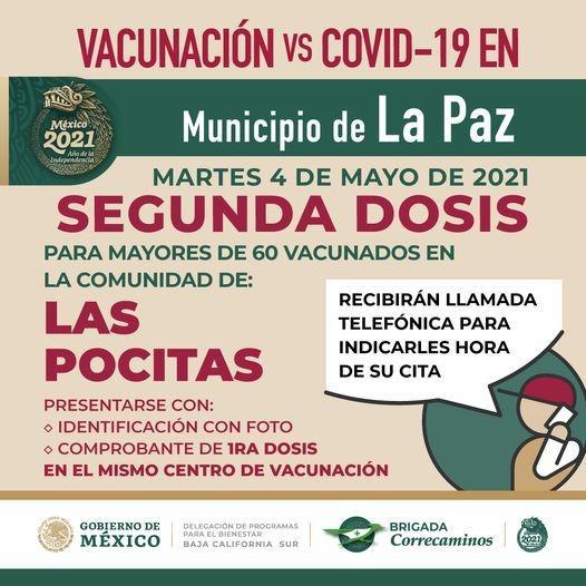 Dosis de vacunación Pocitas