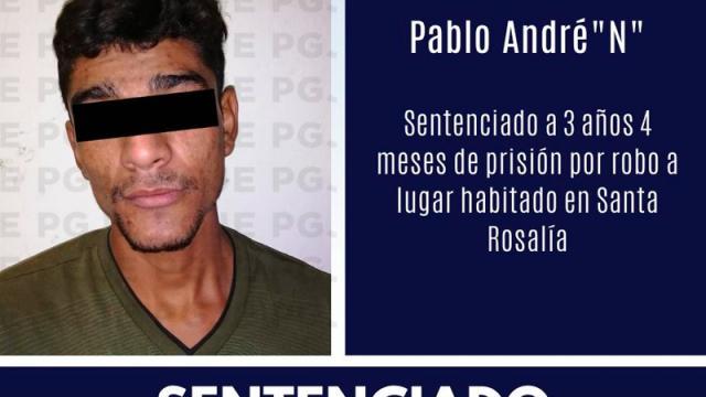 """3 años y 4 meses de prisión para Pablo André """"N"""""""