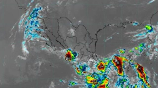 Clima en Pacífico mexicano