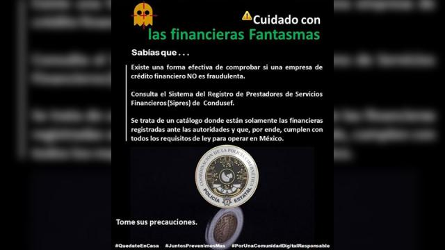 Advierten financieras fantasmas